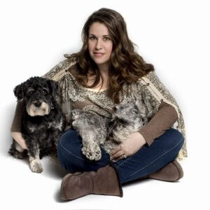 Amy and the dogs